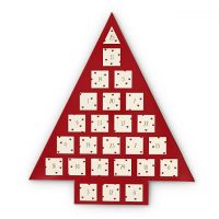femme Johnny Loves Rosie Jewellery Red Heart Jewellery Advent Calendar Watch JLRCAL1