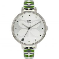 Ladies Orla Kiely Ivy Mesh Watch
