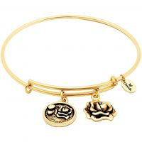 Ladies Chrysalis Gold Plated Friends & Family Mum Bangle