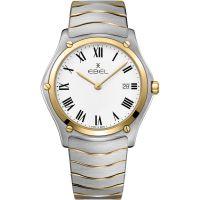 Herren Ebel Sport Classic Watch 1216386A