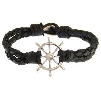 Icon Brand Jewellery Wheel Thing Bracelet JEWEL LE1236-BR-BLK