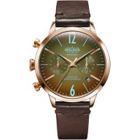 Unisex Welder The Moody 38mm Dual Time Watch K55/WWRC111