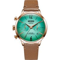 unisexe Welder The Moody 38mm Dual Time Watch K55/WWRC112