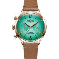 Unisex Welder The Moody 38mm Dual Time Watch K55/WWRC112