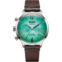 unisexe Welder The Moody 38mm Dual Time Watch K55/WWRC113