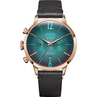Welder The Moody 42mm Dual Time Unisexklocka Brun K55/WWRC208