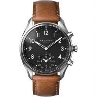 Unisex Kronaby Apex 43 Bluetooth Hybrid Alarm Watch A1000-0729