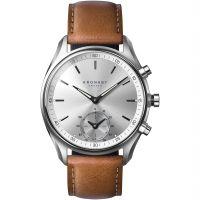 Unisex Kronaby Sekel 43 Bluetooth Hybrid Alarm Watch A1000-0713