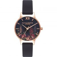 Ladies Olivia Burton Dark Bouquet Watch