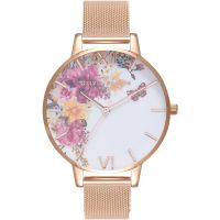 Ladies Olivia Burton Enchanted Garden Watch