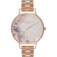 Damen Olivia Burton Watercolour Florals Watch OB16PP38