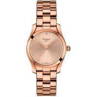 Damen Tissot T-Welle Diamant Uhr