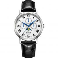 Mens Rotary Windsor Moonphase Watch GS05325/01