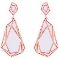 femme Karen Millen Jewellery Colour Shard Statement Earrings Watch KMJ1166-24-08