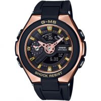 Casio G-Ms Prestigieux Or Alarme Chronographe Montre