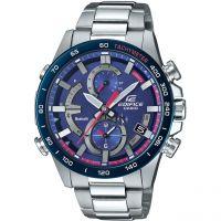 Herren Casio Edifice Bluetooth Toro Rosso Watch EQB-900TR-2AER