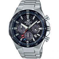 Herren Casio Edifice Carbon Dial Watch EFS-S520CDB-1AUEF