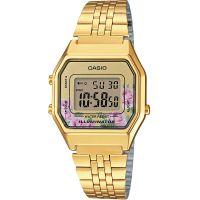 Damen Casio Classic Floral Watch LA680WEGA-4CEF