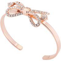 Ted Baker Jewellery Hediie Ornate Pave Bow Bangle JEWEL TBJ1799-24-02