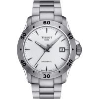 Herren Tissot V8 Swissmatic Watch T1064071103101