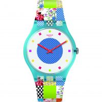 Swatch Quilted Time Unisexklocka SUOS108