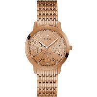 femme Guess Lattice Watch W1088L2