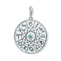 Thomas Sabo Jewellery Star Sign Coin Charm JEWEL Y0037-878-21