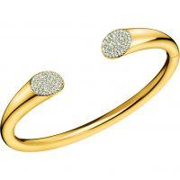 femme Calvin Klein Jewellery Brilliant Bangle Watch KJ8YJF14010M