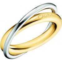 femme Calvin Klein Jewellery Double Ring Size N Watch KJ8XJR200107