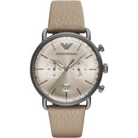homme Emporio Armani Aviator Watch AR11107