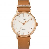 Damen Timex Fairfield with Crystal Accent Watch TW2R70200