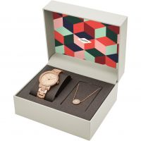 Damen Fossil Neely Necklace Gift Set Watch ES4330SET