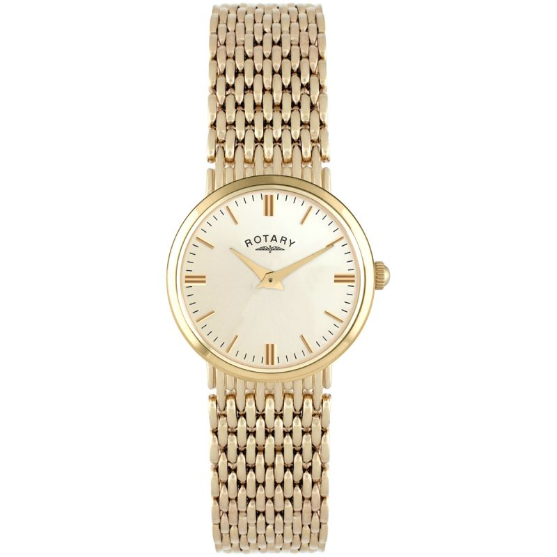 Ladies Rotary 9ct Gold Watch LB10900/03