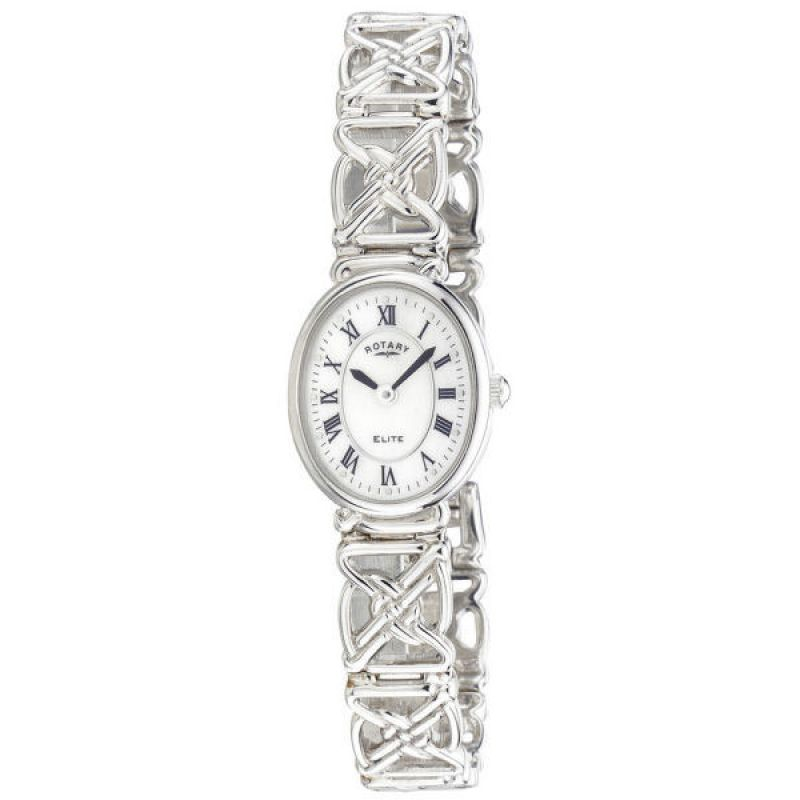 Ladies Rotary Silver Watch LB20005/07