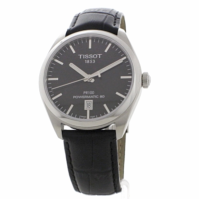 Gents Tissot PR100 Powermatic 80 Watch (T1014071605100 ...