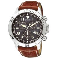 Mens Citizen Perpetual Calendar Titanium Alarm Chronograph Eco-Drive Watch