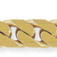 Tight-Linked Heavy Curb Bracelet 8.5/21cm