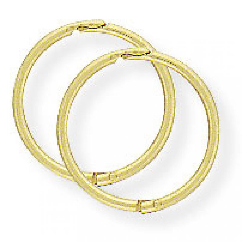 12mm Thick Hinged Sleeper Earrings