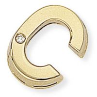 Diamant C Initiale Anhänger