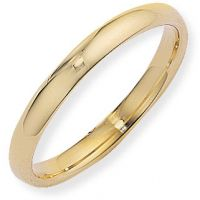 3mm Court-Shaped Band Size K