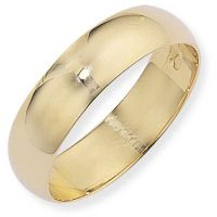 6mm Essential D-Shaped Band Size U