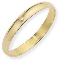 3mm Essential D-Shaped Band Size P
