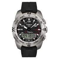 homme Tissot T-Touch Expert Alarm Chronograph Watch T0134204720200
