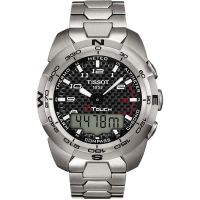 homme Tissot T-Touch Expert Alarm Chronograph Watch T0134204420200