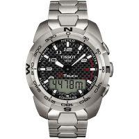 Mens Tissot T-Touch Expert Titanium Alarm Chronograph Watch