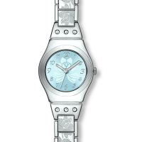 Ladies Swatch Flower Box Watch
