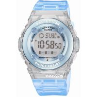 Ladies Casio Baby-G Alarm Chronograph Watch BG-1302-2ER