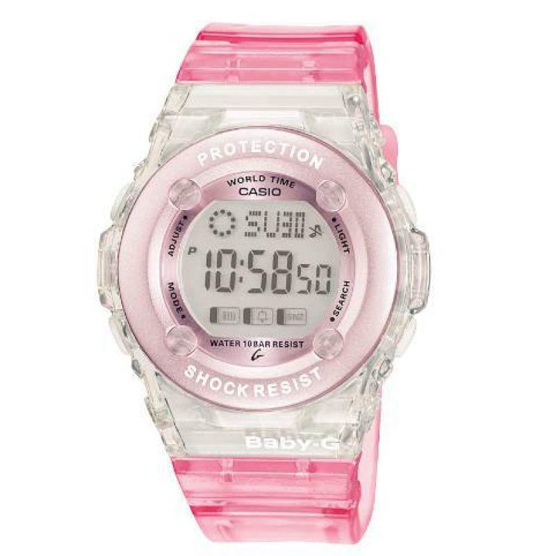 Damen Casio Baby-G Alarm Chronograph Watch BG-1302-4ER
