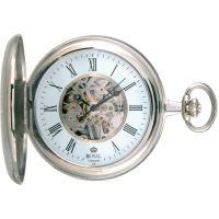 Royal London voll Hunter Tasche Skelett mechanisch Uhr
