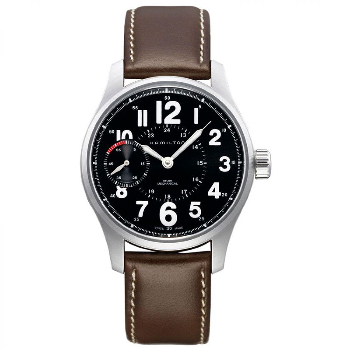 Herren Hamilton Khaki Field Polizist Uhren (H69619533)